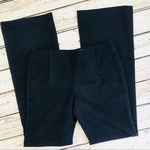 Tory Burch navy wool wide leg pants